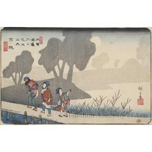 歌川広重: Miyanokoshi - ホノルル美術館