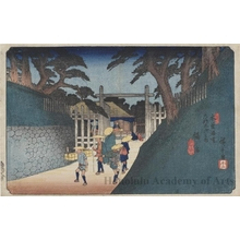 歌川広重: Fukushima - ホノルル美術館