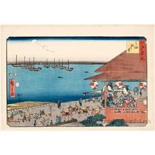 歌川広重: Autumn View of Takanawa - ホノルル美術館