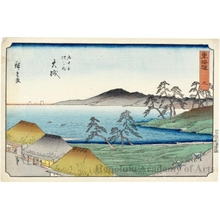 Utagawa Hiroshige: Öiso (Station #9) - Honolulu Museum of Art