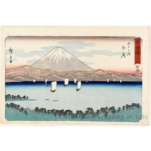 Utagawa Hiroshige: Ejiri (Station #19) - Honolulu Museum of Art