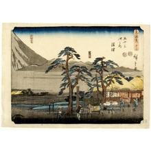 Utagawa Hiroshige: Numazu (Station # 13) - Honolulu Museum of Art