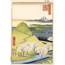 Utagawa Hiroshige: New Fuji, Meguro - Honolulu Museum of Art
