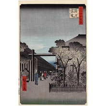 Utagawa Hiroshige: Dawn inside the Yoshiwara - Honolulu Museum of Art