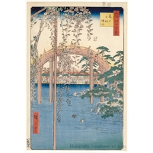 Utagawa Hiroshige: Inside Kameido Tenjin Shrine - Honolulu Museum of Art