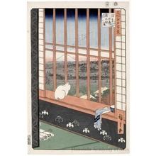 歌川広重: Asakusa Ricefield and Torinomachi Festival - ホノルル美術館
