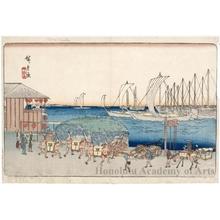 Utagawa Hiroshige: Takanawa - Honolulu Museum of Art