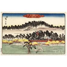 Utagawa Hiroshige: Oji Inari Shrine - Honolulu Museum of Art