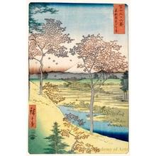 Utagawa Hiroshige: Twilight Hill At Meguro in th Eastern Capital - Honolulu Museum of Art