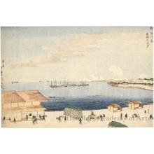 昇亭北壽: Takanawa Ökido in Shinagawa - ホノルル美術館