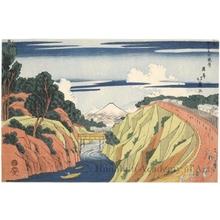 昇亭北壽: View of Ochanomizu - ホノルル美術館