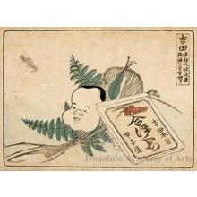 葛飾北斎: Yoshida 2.5 Ri 4 Chö to Goyu - ホノルル美術館