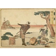 葛飾北斎: Sakanoshita 1.5 ri to Tsuchiyama - ホノルル美術館