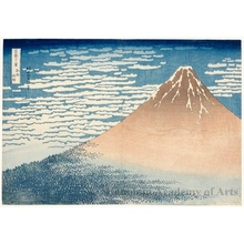 Katsushika Hokusai: Mount Fuji in Clear Weather, or Red Fuji - Honolulu Museum of Art