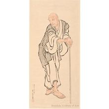 葛飾北斎: Portrait of Hokusai As An Old Man Attributed to Hokusai (1760-1849) - ホノルル美術館