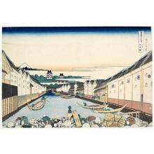 Katsushika Hokusai: The Nihonbashi in Edo - Honolulu Museum of Art