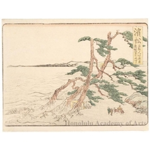 Katsushika Hokusai: Hamamatsu 2ri 30chö to Maisaka - Honolulu Museum of Art