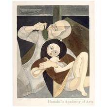 Sekino Junichirö: Father and daughter - Honolulu Museum of Art