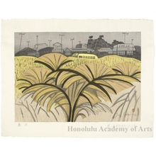 Sekino Junichirö: Fujisawa: Pampas Grass Road - Honolulu Museum of Art