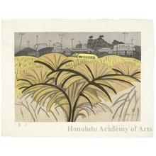 Sekino Junichirö: Fujisawa: Pampas Grass Road - ホノルル美術館