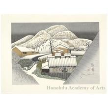 Sekino Junichirö: Kambara: Deep Snow - Honolulu Museum of Art