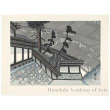 Sekino Junichirö: Okitsu: View from Seiken-ji - ホノルル美術館
