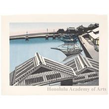 Sekino Junichirö: Eijiri: Shimizu Port - ホノルル美術館