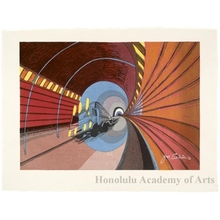 Sekino Junichirö: Okabe: High Speed Tunnel - Honolulu Museum of Art