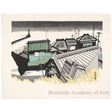 Sekino Junichirö: Shirasuka: Fishing Village - ホノルル美術館
