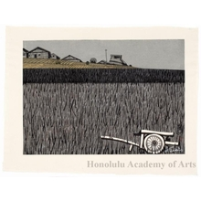 Sekino Junichirö: Fujikawa: Farmhouses - Honolulu Museum of Art