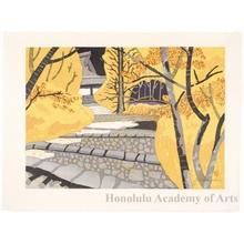 Sekino Junichirö: Ishiyakushi: Fall Colors - ホノルル美術館