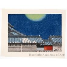 Sekino Junichirö: Futakawa: Moon at Zenith - ホノルル美術館