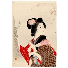 Suzuki Kason: Viewing Cherry Blossoms - Honolulu Museum of Art