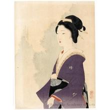 武内桂舟: Geisha in Edo - ホノルル美術館