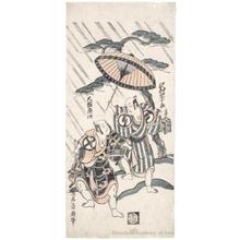鳥居清廣: Sawamura Söjürö II and Ötani Hiroji II - ホノルル美術館