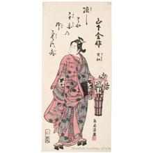 鳥居清廣: Yamashita Kinsaku II (Rikö) - ホノルル美術館
