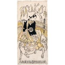 鳥居清倍: Sanogawa Ichimatsu I as Kumenosuke - ホノルル美術館