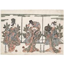 Torii Kiyomitsu: Nö Dancers - Honolulu Museum of Art