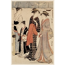 Torii Kiyonaga: Cooling Off At Nakasu - Honolulu Museum of Art