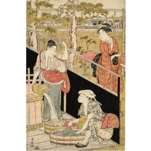Torii Kiyonaga: The Laundry - Honolulu Museum of Art