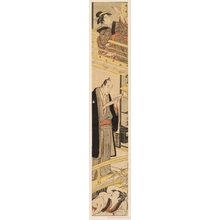 Torii Kiyonaga: A Parody of the play, Chushingura, Act VII - Honolulu Museum of Art