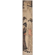 Torii Kiyonaga: Two Women Under Lanterns - Honolulu Museum of Art