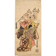 鳥居清信: Fujimura Handayü II - ホノルル美術館