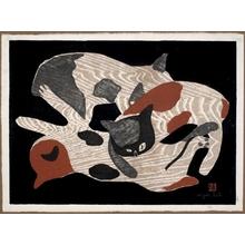 朝井清: Cats - ホノルル美術館