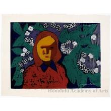 Asai Kiyoshi: Girl - Honolulu Museum of Art