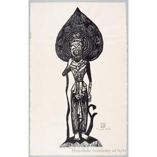 Asai Kiyoshi: Buddhist statue - Honolulu Museum of Art