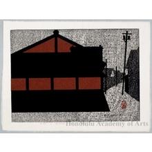 Asai Kiyoshi: Gion in Kyoto (I) - Honolulu Museum of Art