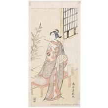 Torii Kiyotsune: Ichikawa Monnosuke II - Honolulu Museum of Art