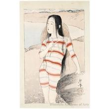 Tsukioka Kogyo: Sea-Bathing Beauty - Honolulu Museum of Art