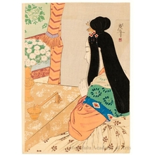 Tsukioka Kogyo: Praying to Buddha - Honolulu Museum of Art